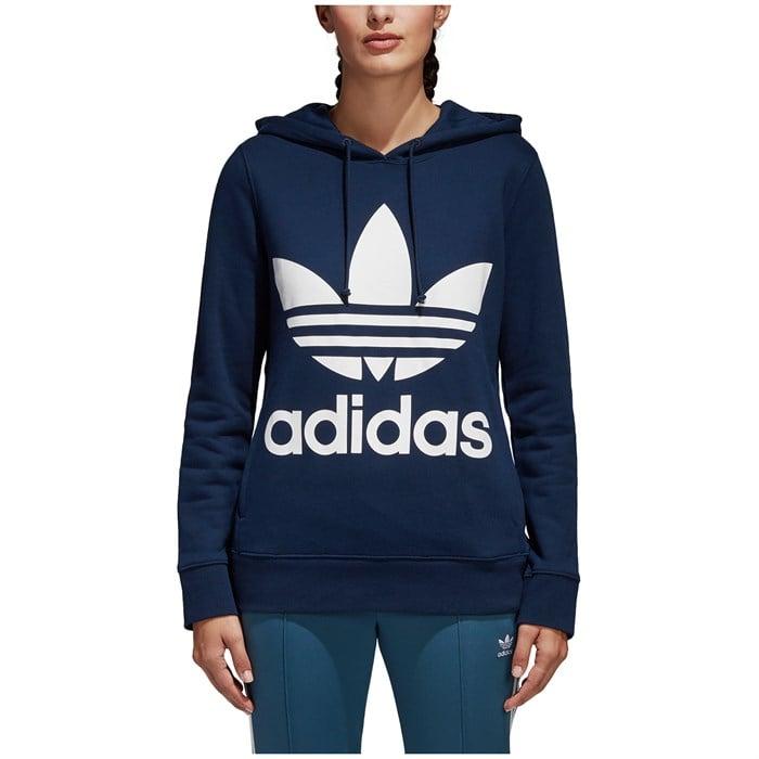 Adidas Originals Trefoil Hoodie - Women s  3e7b97e50a