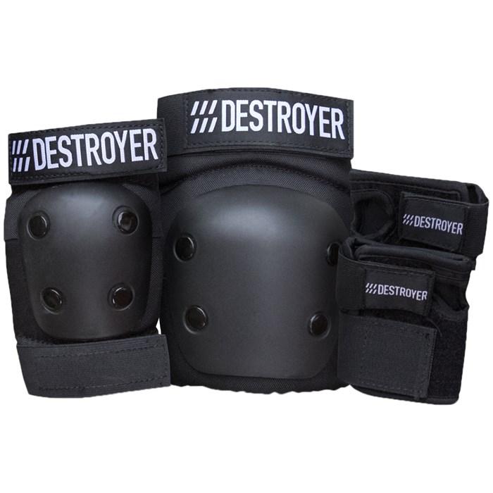 Destroyer - Grom Skateboard Pad Set - Kids'