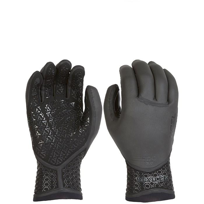 XCEL - 3mm Drylock Texture Skin 5-Finger Wetsuit Gloves