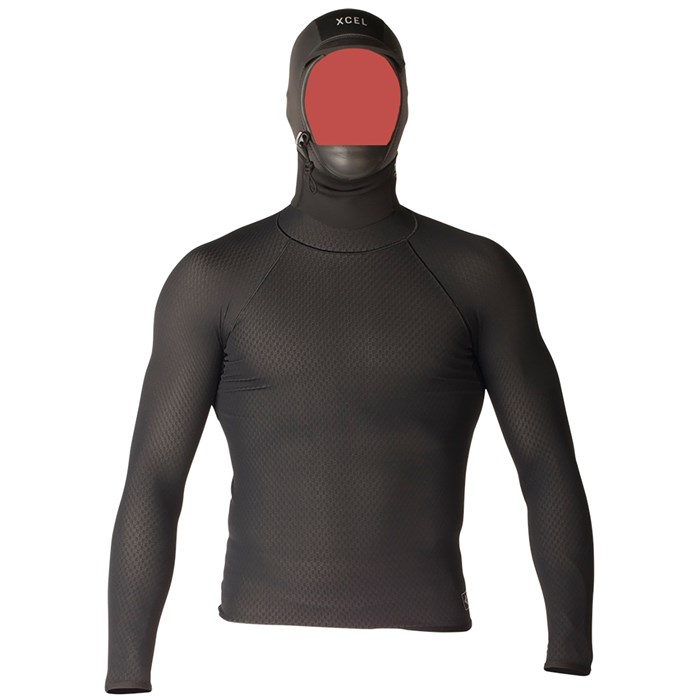 XCEL - Celliant Jacquard Shirt with 2mm G&B Hood
