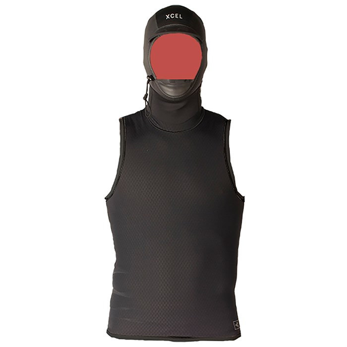 XCEL - Celliant Jacquard Vest with 2mm G&B Hood