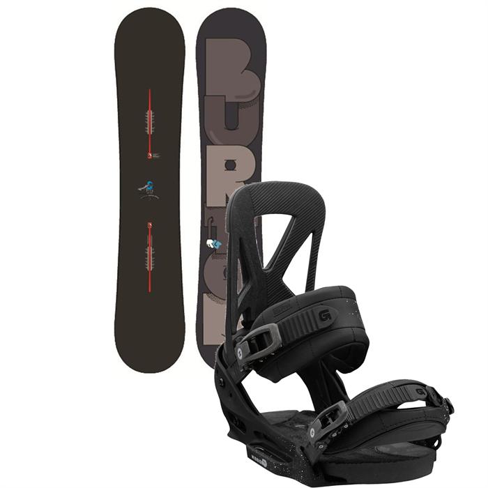 Burton - Super Hero Snowboard + Mission EST Bindings 2013