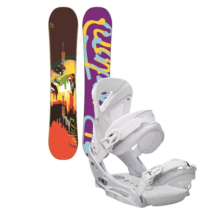 Burton - Lip-Stick Snowboard + Lexa EST Bindings - Women's 2013
