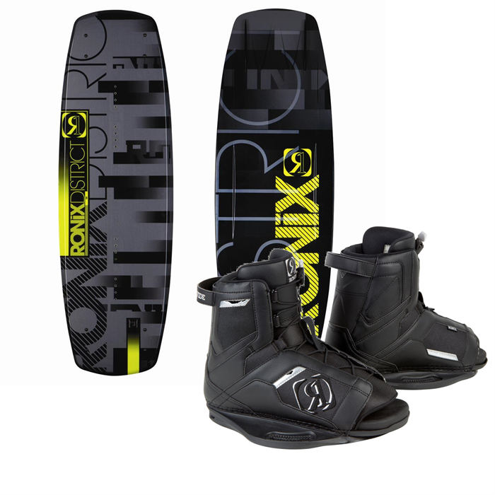 Ronix - District Wakeboard + Divide Bindings 2013