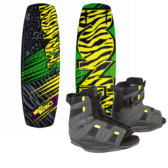 Ronix - District Park Wakeboard + Ronix District Bindings 2013