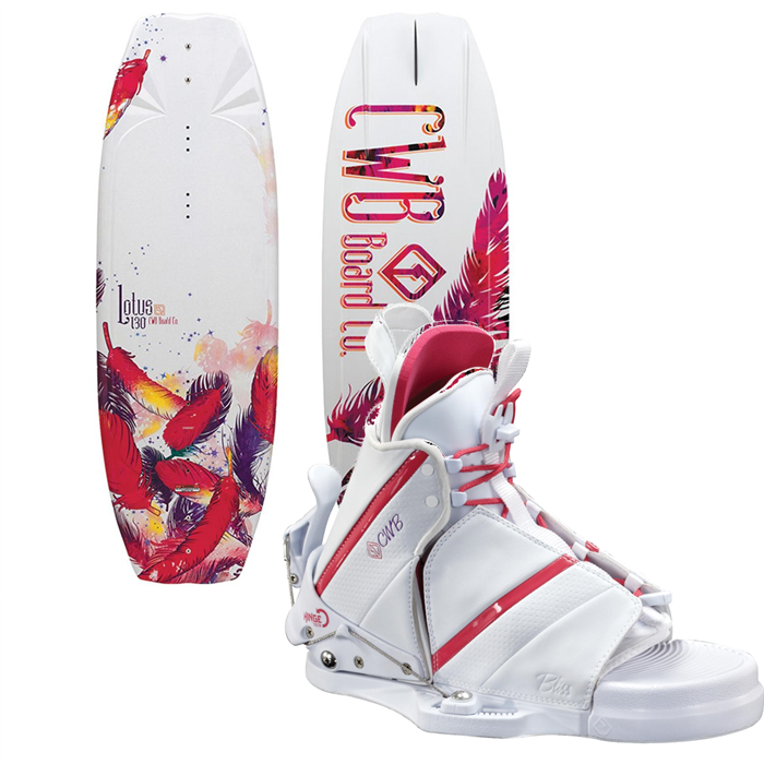CWB - Lotus Wakeboard + Bliss Bindings - Women's 2013
