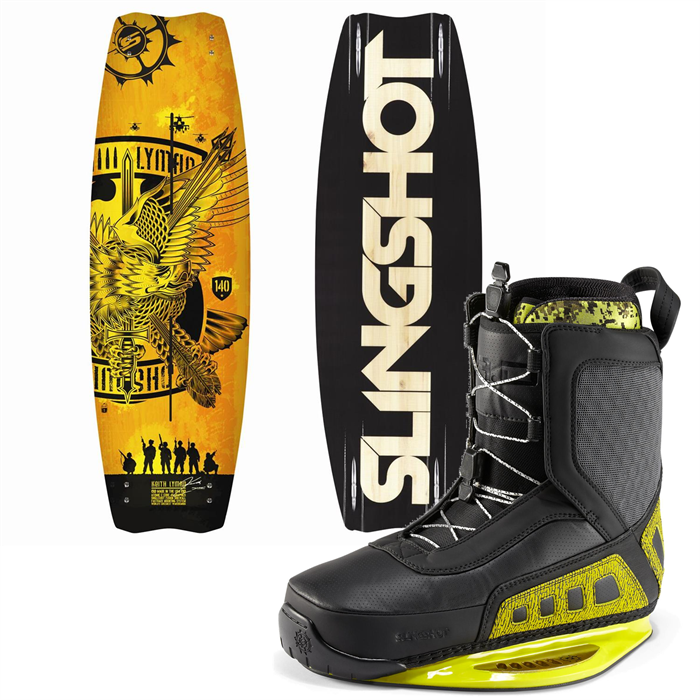 Slingshot - Lyman Wakeboard + RAD Bindings 2013