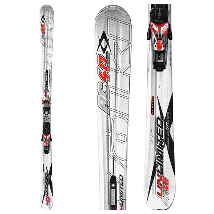 Volkl Unlimited AC40 Skis + Marker Motion IPT 12.0 Piston