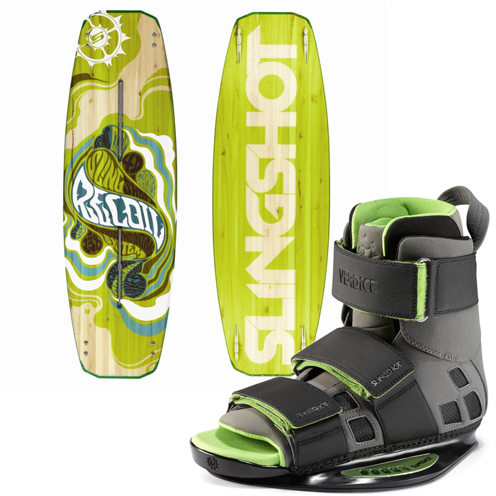 Slingshot - Recoil Wakeboard + Verdict OT Bindings 2013