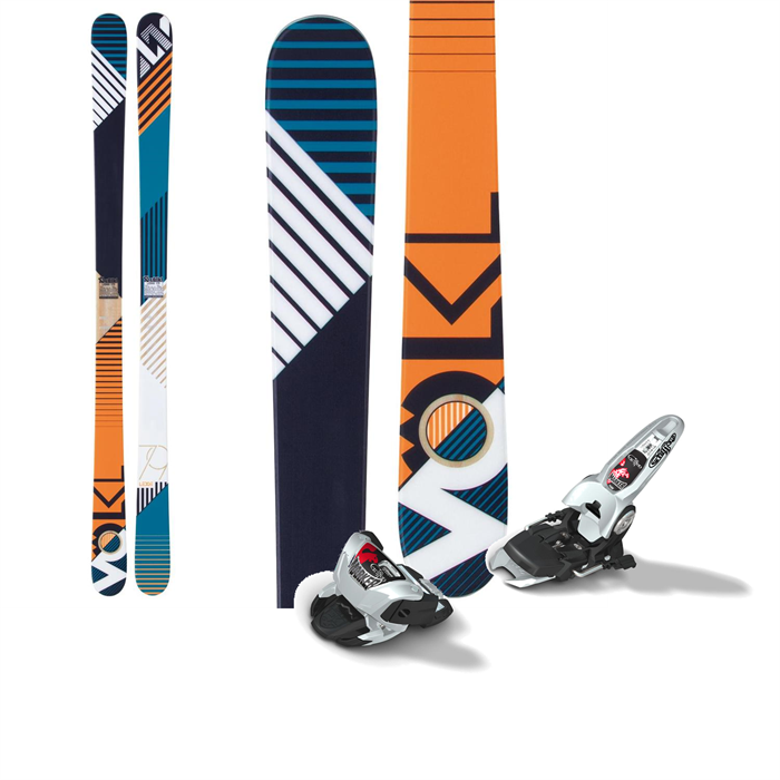 Volkl - Ledge Skis + Marker Griffon Bindings 2013