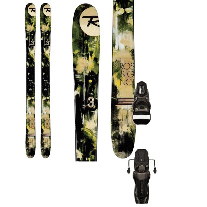 Rossignol - S3 Skis + Axial2 120 XL Bindings 2013