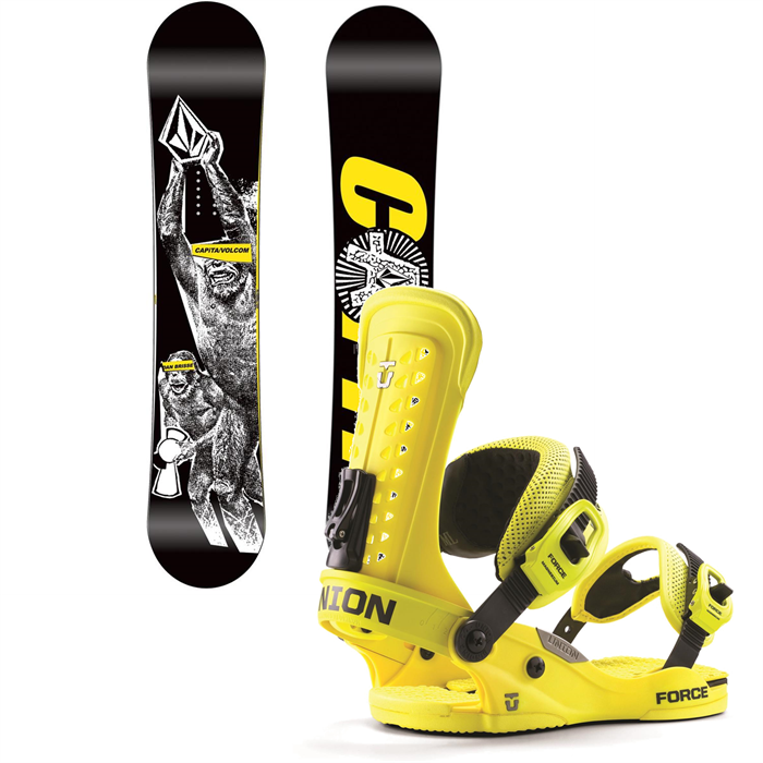 CAPiTA - DBX Snowboard + Union Force Bindings 2014