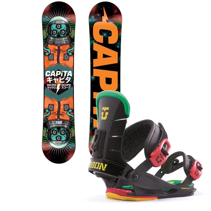 CAPiTA - Micro Scope Snowboard + Union Mini Flite Bindings - Kid's 2014