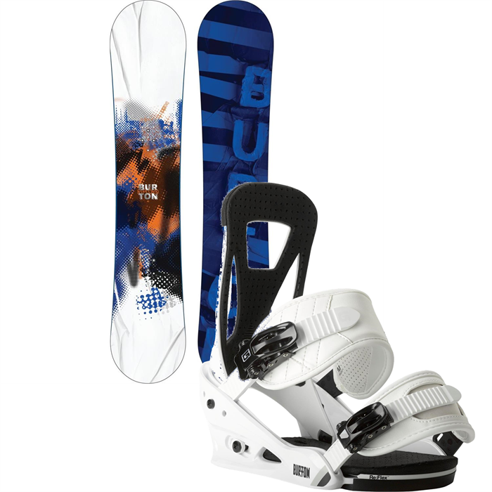 Burton - Ripcord Snowboard + Freestyle Bindings 2014