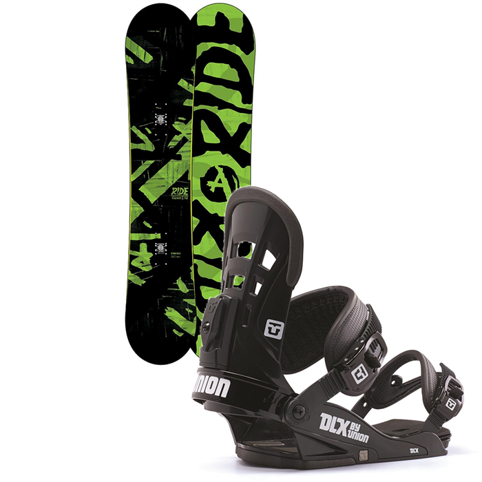 Ride - Agenda Snowboard + Union DLX Bindings 2014