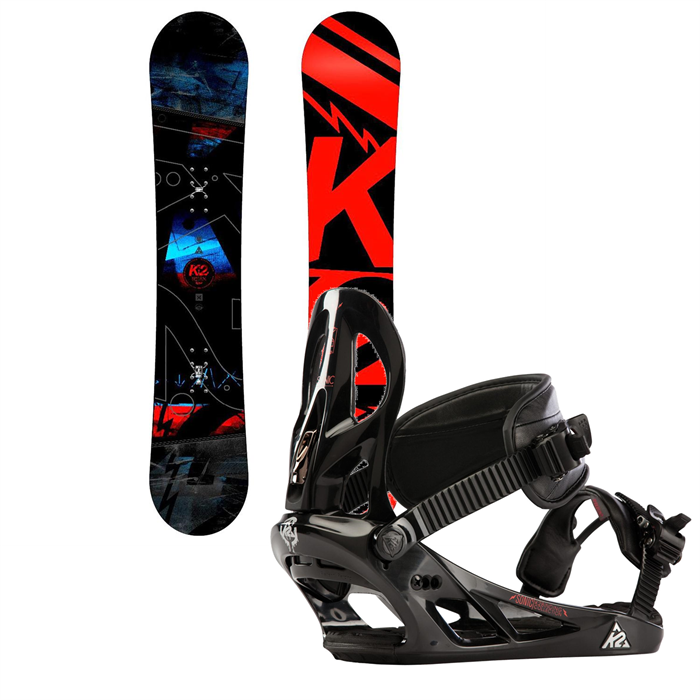 K2 - Brigade Snowboard + Sonic Bindings 2014