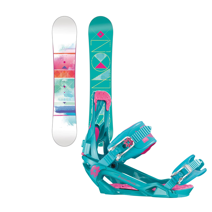 Salomon - Lotus Snowboard + Nikita Ninja Bindings - Women's 2014