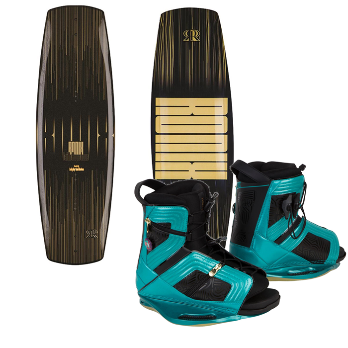 Ronix - Faith Hope Love Wakeboard + Halo Bindings - Women's 2014