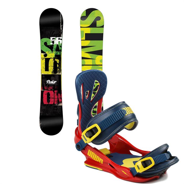Salomon - Pulse Snowboard + Union Flite Bindings 2014