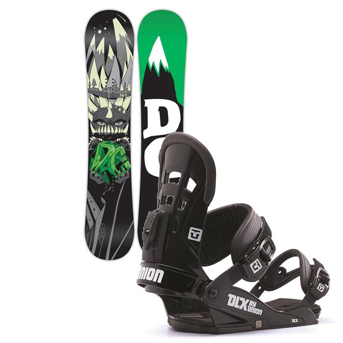 DC - Focus Snowboard + Union DLX Bindings 2014