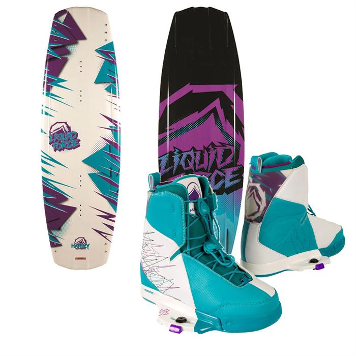 Liquid Force - Harley Wakeboard + Harley Wakeboard Bindings 2014
