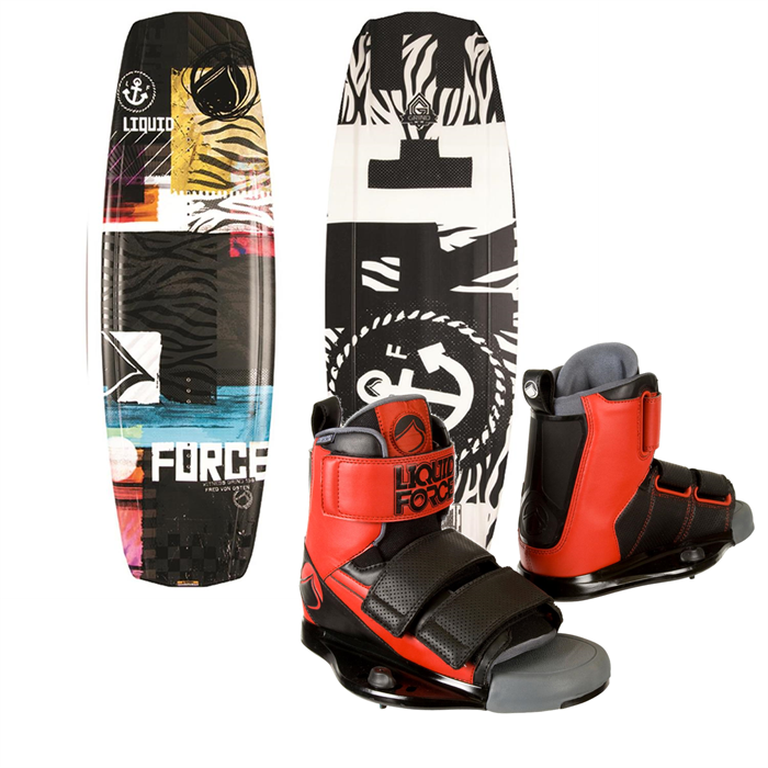 Liquid Force - Witness Grind Wakeboard + Domain Wakeboard Bindings 2014