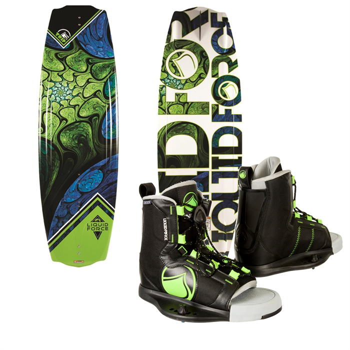 Liquid Force - Trip Wakeboard + Index Wakeboard Bindings 2014