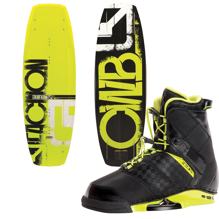 CWB - Faction Wakeboard + Faction Bindings 2014
