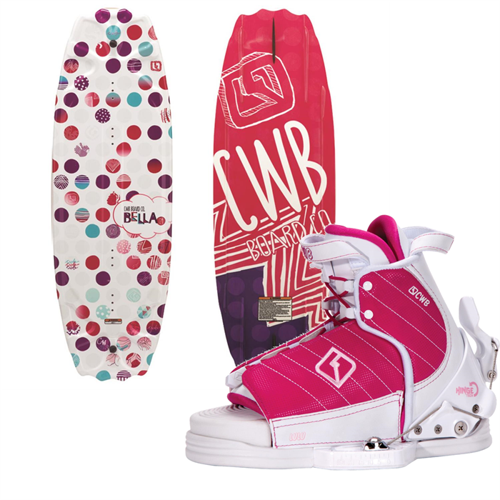 CWB - Bella Wakeboard + Lulu Bindings - Girl's 2014
