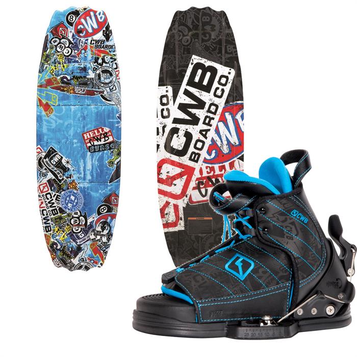 CWB - Surge Wakeboard + Tyke Bindings - Boy's 2014
