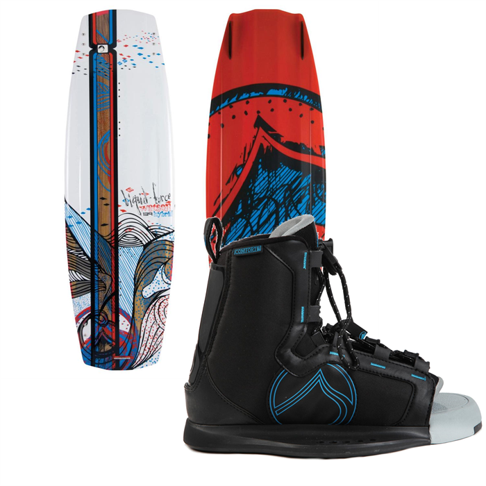 Liquid Force - Watson Hybrid Wakeboard + Index Bindings