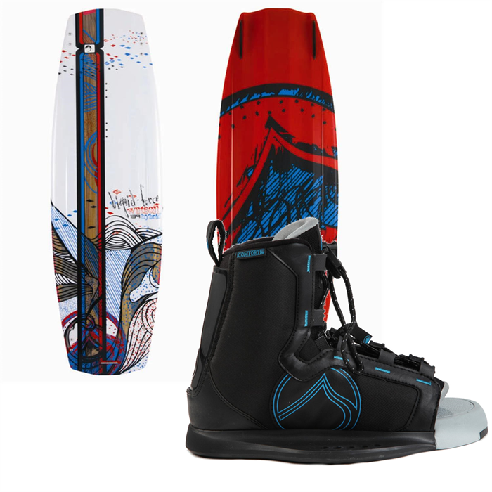 Liquid Force - Watson Hybrid Wakeboard (Blem) + Index Bindings