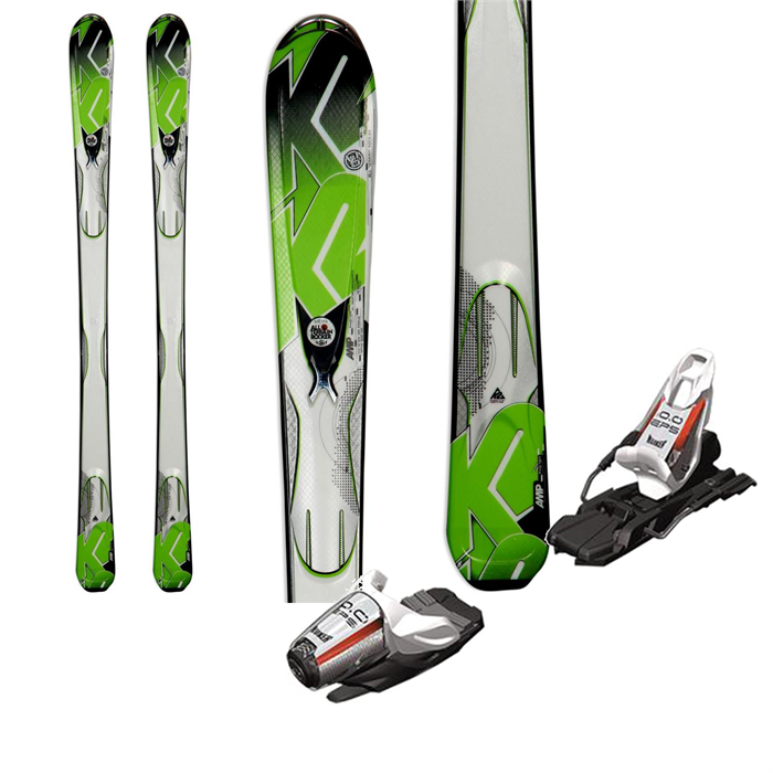 K2 - A.M.P. Photon Skis + Marker 10.0 EPSBindings 2013
