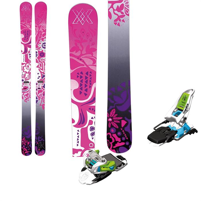 Volkl - Aura Skis + Marker Squire Bindings - Women's