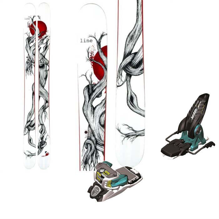 Line Skis - Mr Pollard's Opus Skis + Marker Jester Bindings 2014