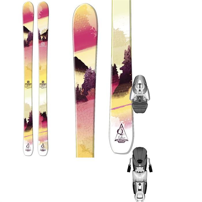 Salomon - Q-88 Lux Skis + Salomon Z10 Ti Bindings - Women's 2014