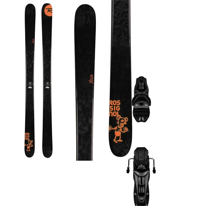 Rossignol - Slat Skis + Rossignol Axium 110 Bindings 2014