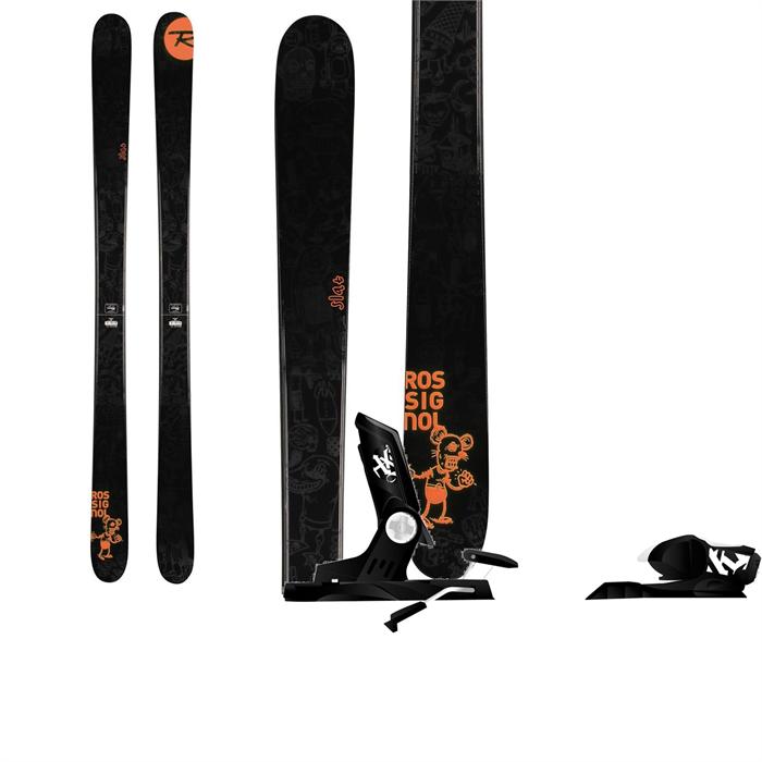 Rossignol - Slat Skis + Rossignol Axial2 120 Bindings 2014