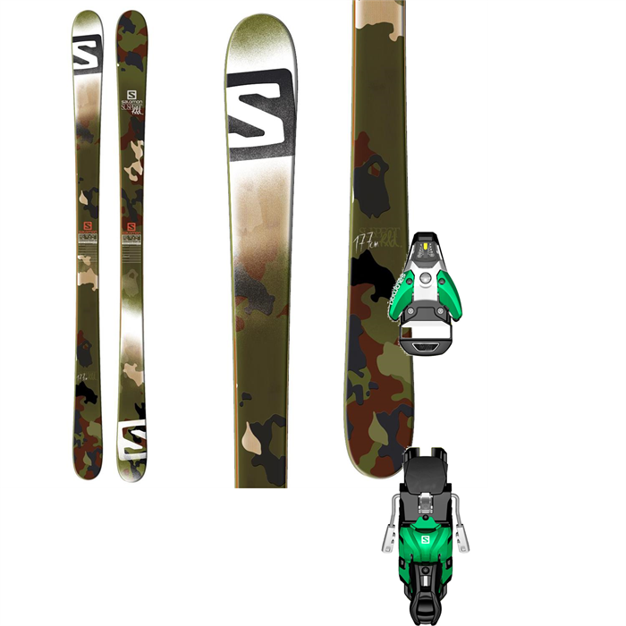 Salomon - Suspect Skis + STH2 13 Bindings 2014