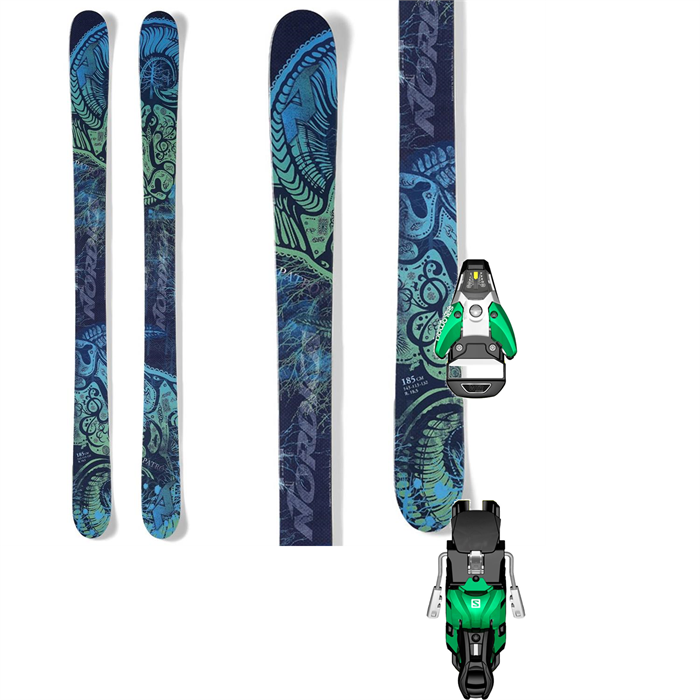 Nordica - Patron Skis + Salomon STH2 13 Ski Bindings 2014