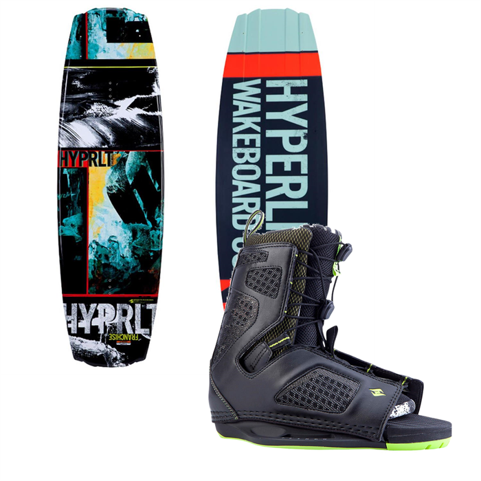 Hyperlite - Franchise Wakeboard + Team OT Bindings 2014