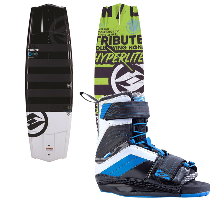 Hyperlite - Tribute Wakeboard + Focus Bindings 2014