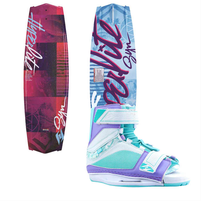 Hyperlite - Syn Wakeboard + Blur Bindings - Women's 2014