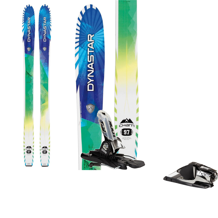 Dynastar - Cham 97 Skis + Look PX 12 Bindings