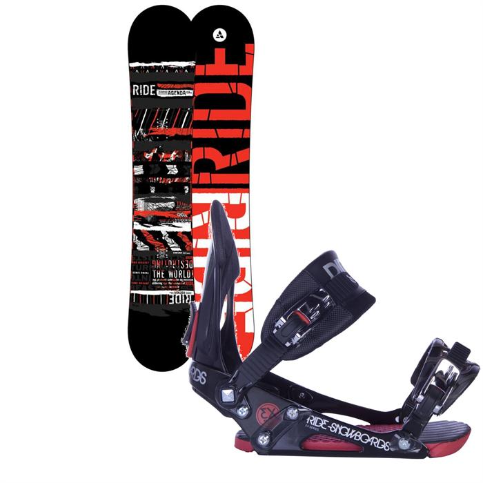 Ride - Agenda Snowboard + EX Bindings 2013