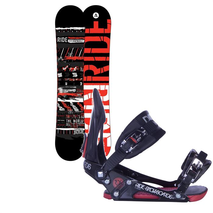Ride - Agenda Wide Snowboard + EX Bindings 2013