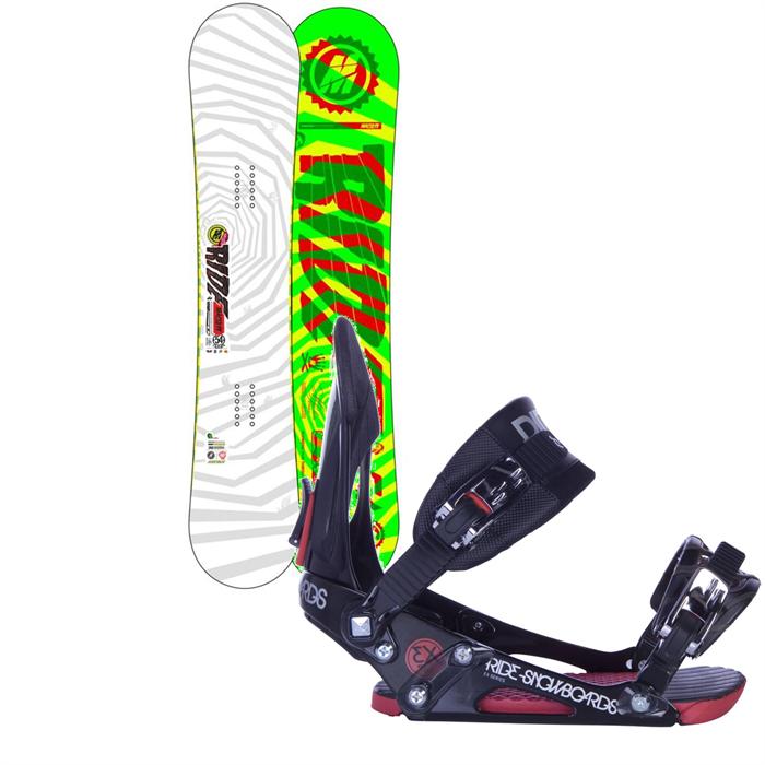 Ride - Machete Wide Snowboard + EX Bindings 2013