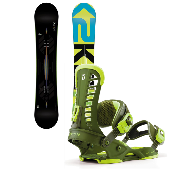 K2 - Slayblade Wide Snowboard + Union Atlas Bindings 2013