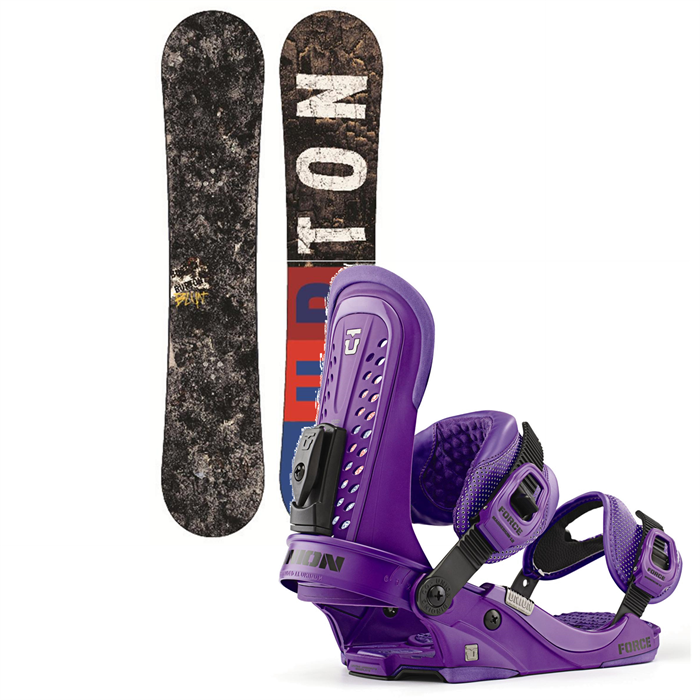 Burton - Blunt Wide Snowboard + Union Force Bindings 2013