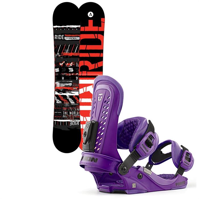 Ride - Agenda Snowboard + Union Force Bindings 2013